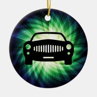 Car Silhouette; Cool Christmas Ornament