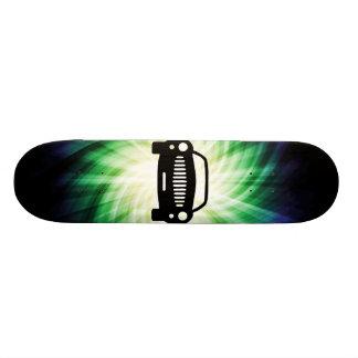 Car Silhouette Cool Skate Deck