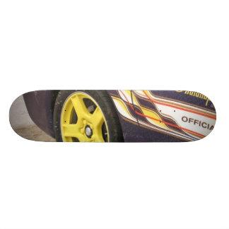 car skateboard deck