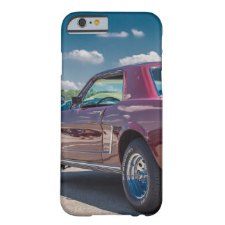 Car Sports Mustang Red Muscle Motor Gears Metal Barely There iPhone 6 Case