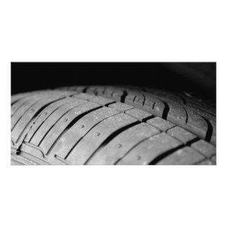 Car Tire Photo Cards
