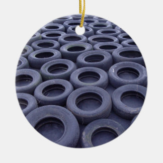 Car Tires Christmas Ornament