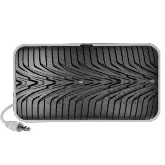 Car tyre travelling speaker