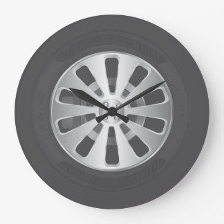 Car tyre wallclocks
