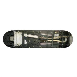Car undercarriage 18.1 cm old school skateboard deck