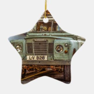 Car Vehicle 4x4 Street Automobile Christmas Ornament