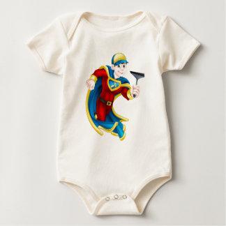 Car Wash Super Hero Baby Bodysuit