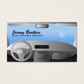 Car Window Repair Business Cards