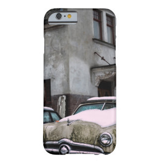 Car with snow barely there iPhone 6 case