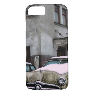 Car with snow iPhone 7 case