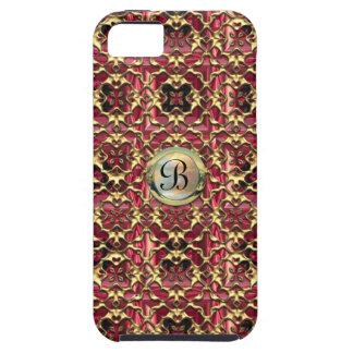 Cara Monogram Baroque iPhone 5 Cases