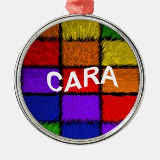 CARA Silver-Colored ROUND DECORATION