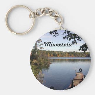 Carabou lake MN Key Ring