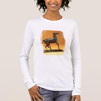 Caracoling Horse (bronze) Long Sleeve T-Shirt