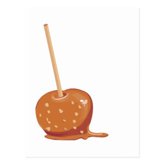Caramel Apple Post Cards