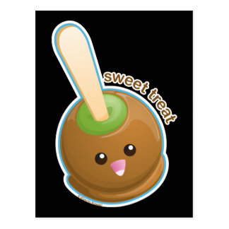 Caramel Apple Postcard