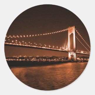 Caramel-cola Bridge sticker