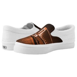 Caramel-cola Bridge Z slipons Slip On Shoes