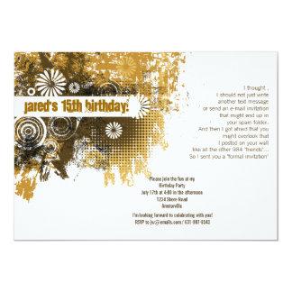 "Caramel Glory Invitation 5"" X 7"" Invitation Card"