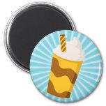 Caramel Milkshake Magnets