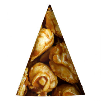 Caramel Popcorn Party Hat