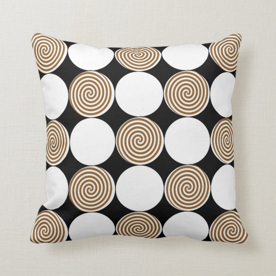 Caramel Swirls Cushion
