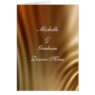 Caramel Wedding Set Greeting Card