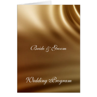 Caramel Wedding Set Greeting Card