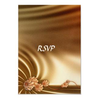 "Caramel Wedding Set 3.5"" X 5"" Invitation Card"