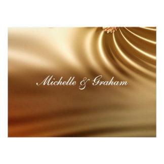 Caramel Wedding Set Custom Invites
