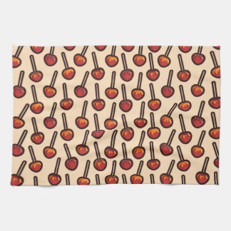 Caramelized Apples Tea Towel