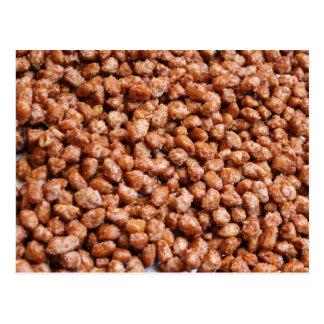 caramelized hazelnuts postcard