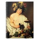 Caravaggio Bacchus Notebook