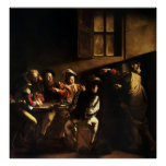 Caravaggio Calling of Saint Matthew Posters