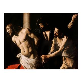 Caravaggio - Christ at the Column Postcard
