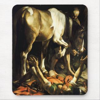 Caravaggio Conversion of St. Paul Mouse Pad