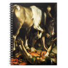 Caravaggio Conversion of St. Paul Notebook