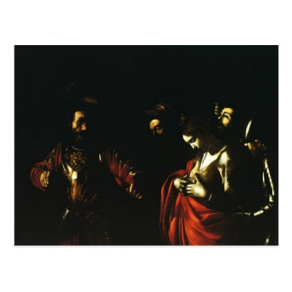 Caravaggio- Martyrdom of Saint Ursula Postcard
