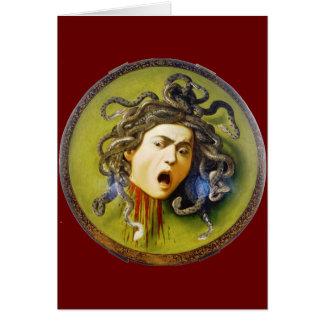 Caravaggio Medusa Fine Art Note Card
