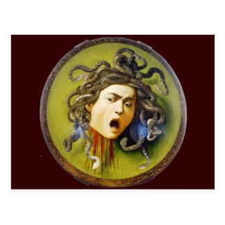Caravaggio Medusa Fine Art Postcard