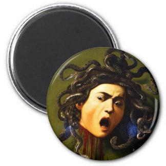 Caravaggio Medusa Fridge Magnets