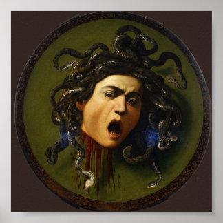 Caravaggio Medusa Poster