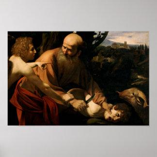 Caravaggio - Sacrifice of Isaac Poster