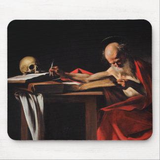 Caravaggio - Saint Jerome Writing Mouse Mat