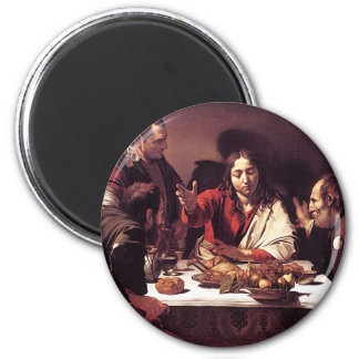 Caravaggio - Supper at Emmaus Magnet