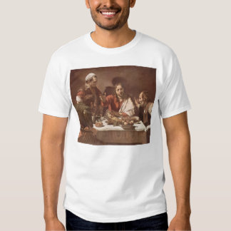 Caravaggio- Supper at Emmaus T-shirt