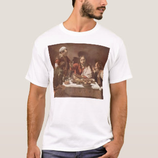 Caravaggio- Supper at Emmaus T-Shirt