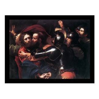 Caravaggio Taking Of Christ Postcard