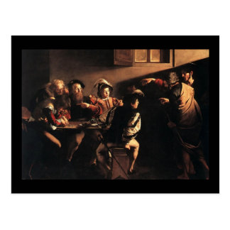 Caravaggio The Calling Of Saint Matthew Post Cards