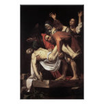 Caravaggio The Entombment Poster